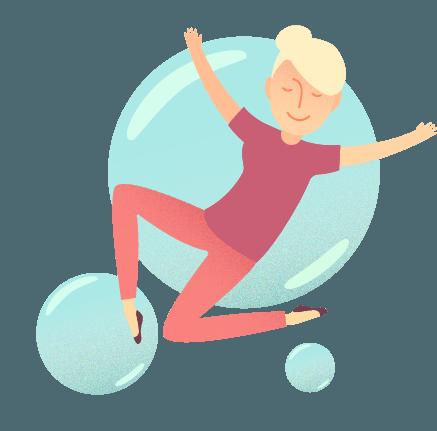 Meditation bubble