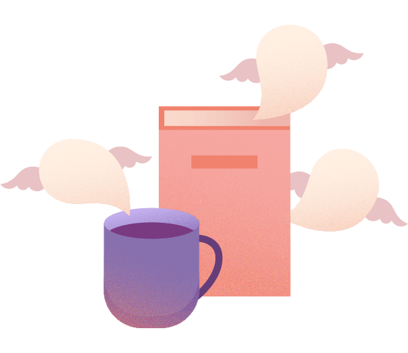 Morning Journaling with coffee or tea