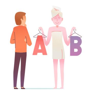 a or b test