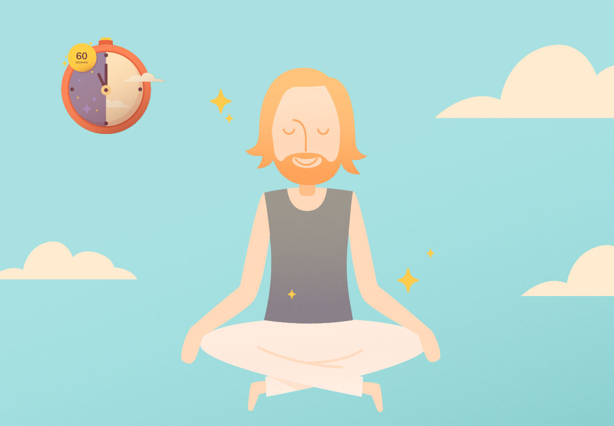 The one minute meditation