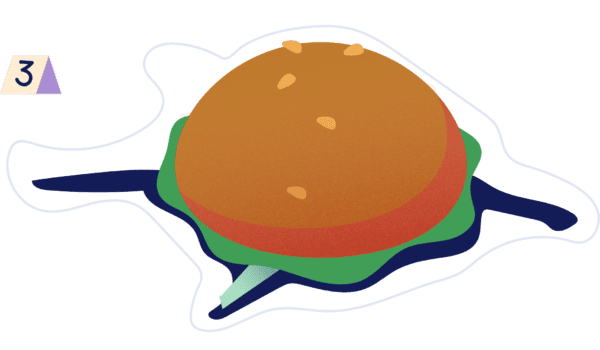 Choose long-term wellbeing over short-term pleasure - Death by burger