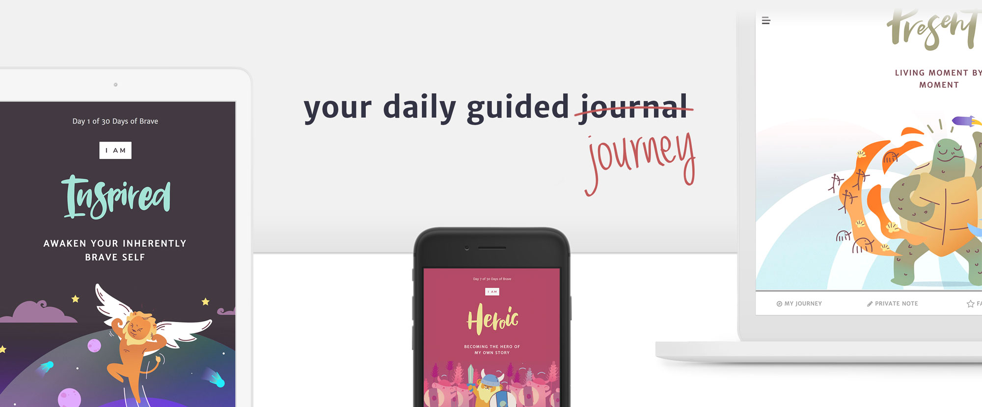 your daily guided journey