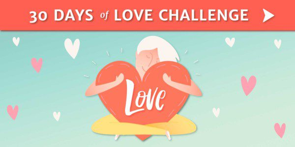 30 Days of Love Ad Banner