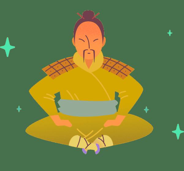 How to be humble the samurai way