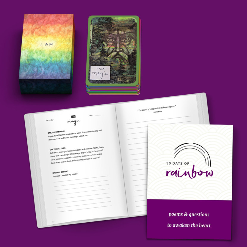 30 Days of Rainbow Guidebook & Intention Deck