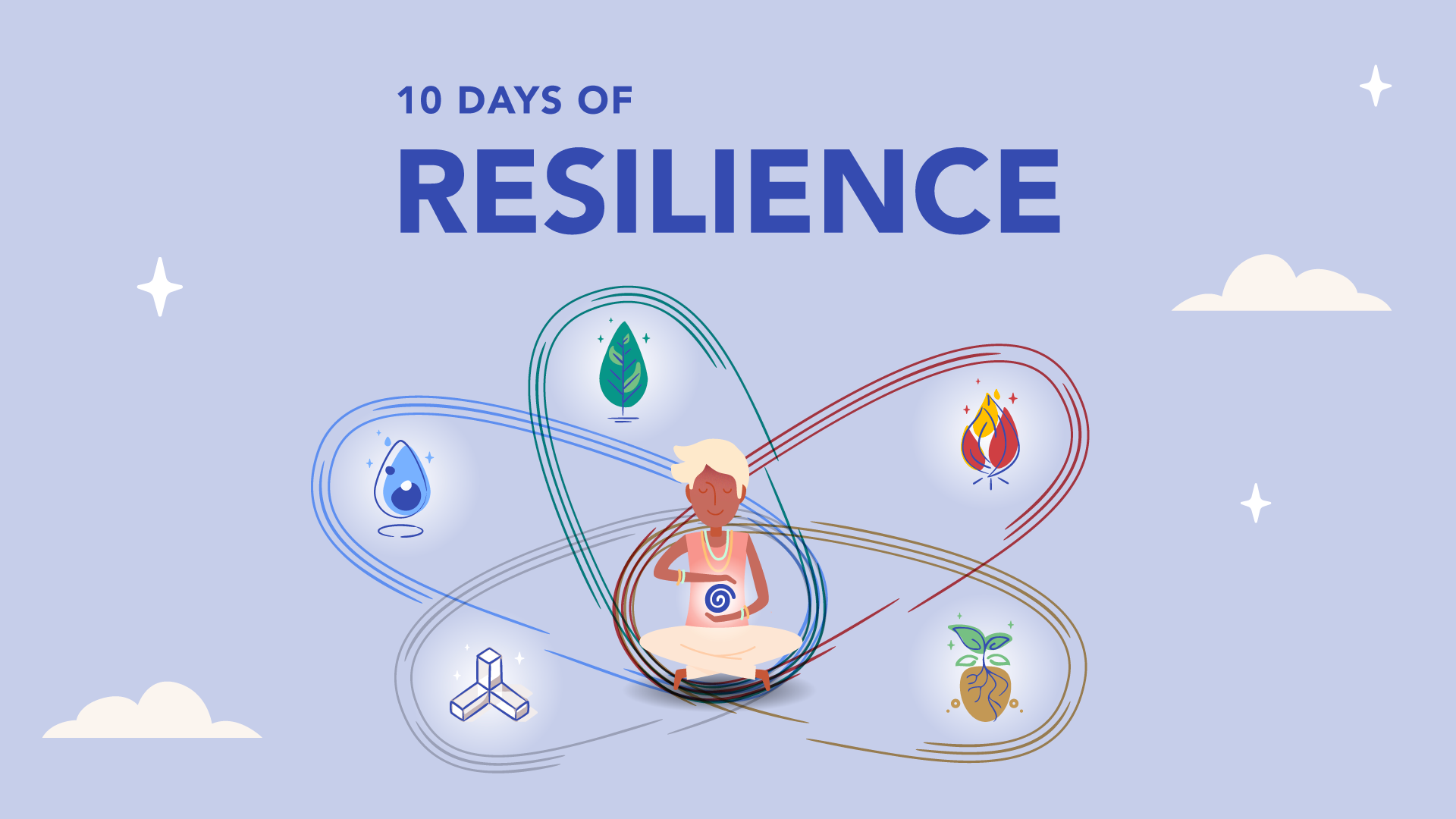 FEBRUARY'S COMMUNITY COURSE: 10 Days of Resilience 🌀