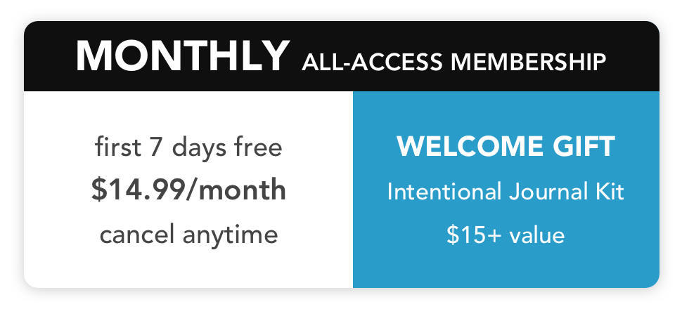 Monthly All-Access Membership