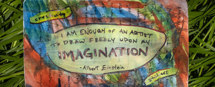 Elevating Consciouness by Merging Imagination with Creativity Through Inspired Action