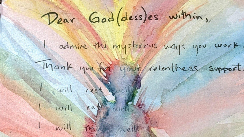 Inspired Goddess poem to self