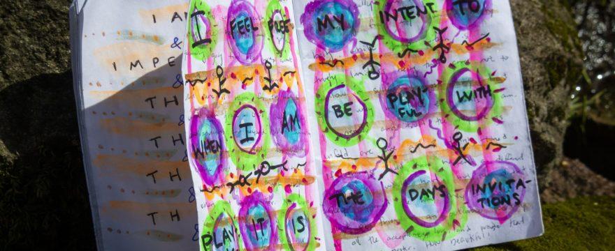 playful creative journal