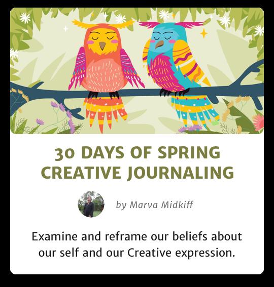 30 Days of Spring Creative Journaling