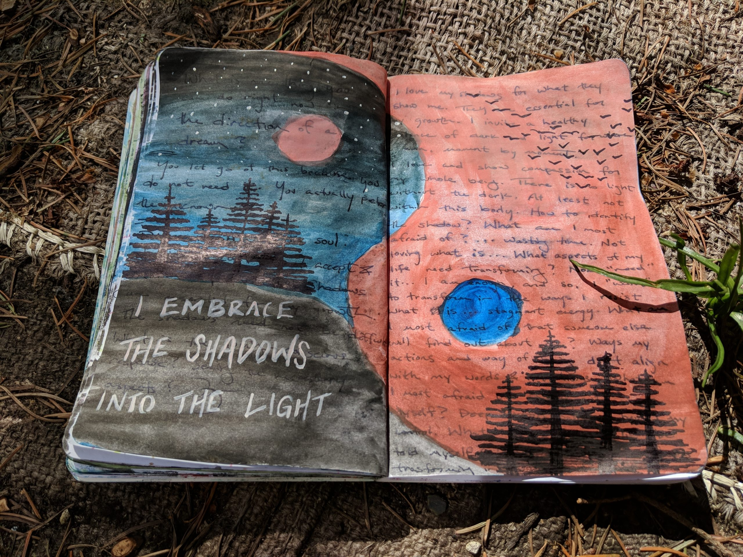 Dark Night Creative Journal