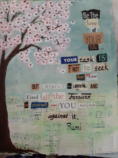 creative journal - be the love of your life ...